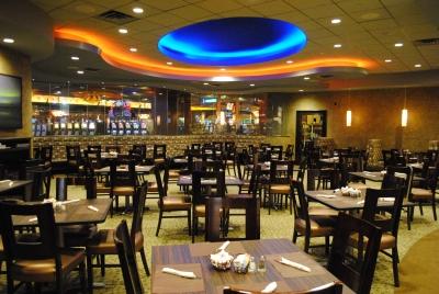 Soaring Eagle Aurora Buffet Seating Area