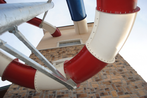 New slide tower tubes