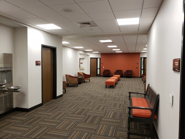 Expanded and reorganized Circuit Court Lobby