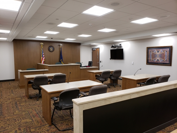 New probate court hearing room